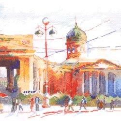 画像1: クロスステッチキット サンクトペテルブルク カザン聖堂