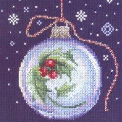 画像1: クロスステッチ キット クリスマスボール (RTO C291)