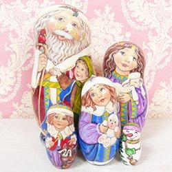 画像1: マトリョーシカ クリスマスナイト