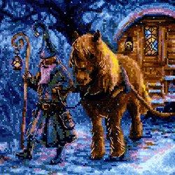 画像1: クロスステッチ キット 旅する魔術師  (RIOLIS・リオリス・1942)